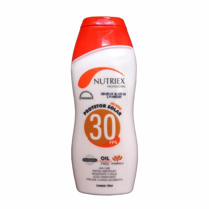 7e4607a32c0cf Protetor Solar com Repelente FPS 30 Nutriex 120g